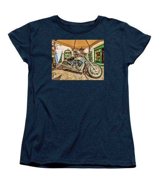 Harley Women's T-Shirt (Standard Cut) by Roy McPeak