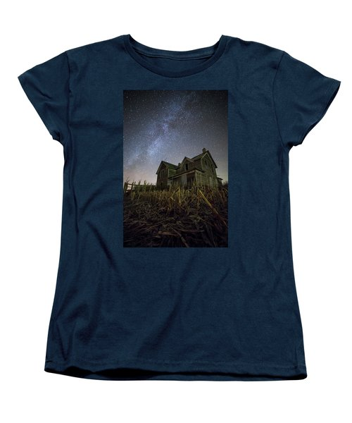 Harvested  Women's T-Shirt (Standard Cut) by Aaron J Groen