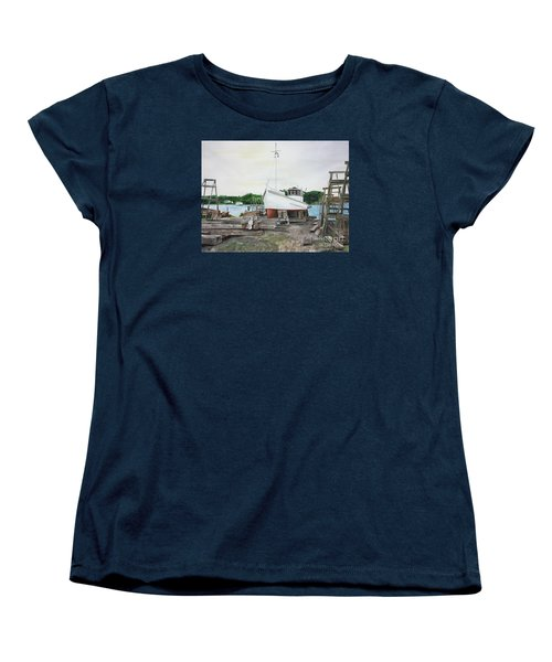 Harvey A. Drewer Women's T-Shirt (Standard Cut) by Stan Tenney