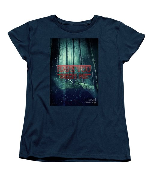 Have You Seen Me Women's T-Shirt (Standard Cut) by Mo T