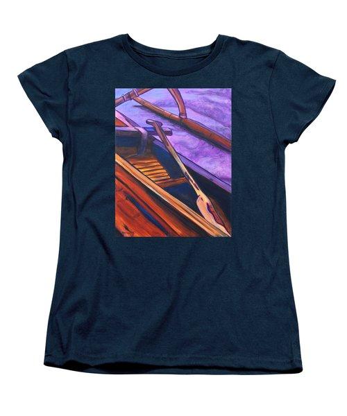 Hawaiian Canoe Women's T-Shirt (Standard Cut) by Marionette Taboniar