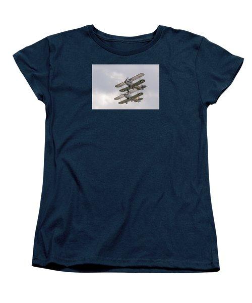 Hawker Nimrods Women's T-Shirt (Standard Cut) by Gary Eason