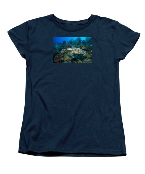 Women's T-Shirt (Standard Cut) featuring the photograph Hawksbill Haunt by Aaron Whittemore