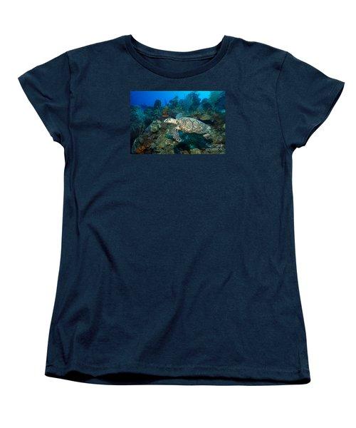Hawksbill Haunt Women's T-Shirt (Standard Cut) by Aaron Whittemore