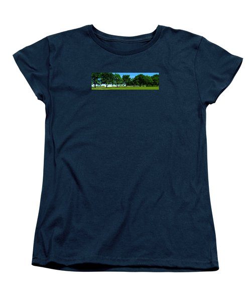 Hay Harvest Women's T-Shirt (Standard Cut) by Spyder Webb