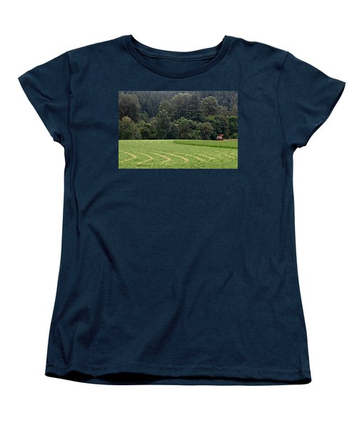 Haying  Women's T-Shirt (Standard Cut) by Katie Wing Vigil