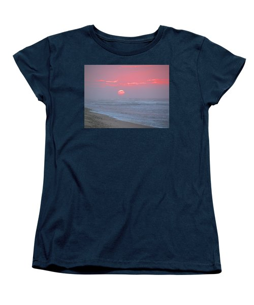 Hazy Sunrise I I Women's T-Shirt (Standard Cut) by  Newwwman