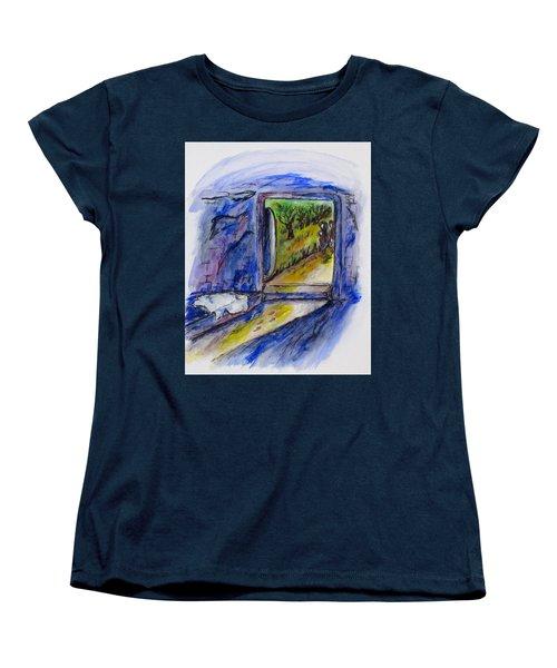 He Is Gone Women's T-Shirt (Standard Cut) by Clyde J Kell