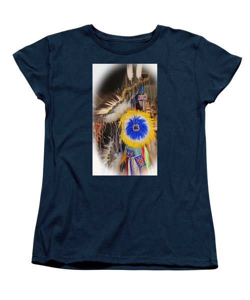 Head Dress Women's T-Shirt (Standard Cut) by Audrey Robillard