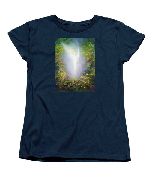 Healing Angel Women's T-Shirt (Standard Cut) by Marina Petro