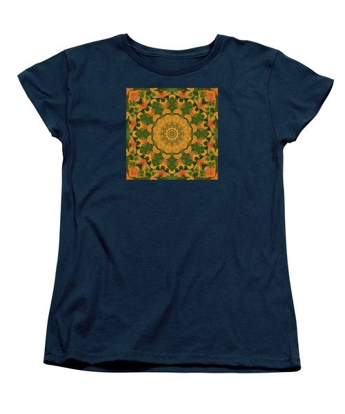 Women's T-Shirt (Standard Cut) featuring the photograph Healing Mandala 9 by Bell And Todd