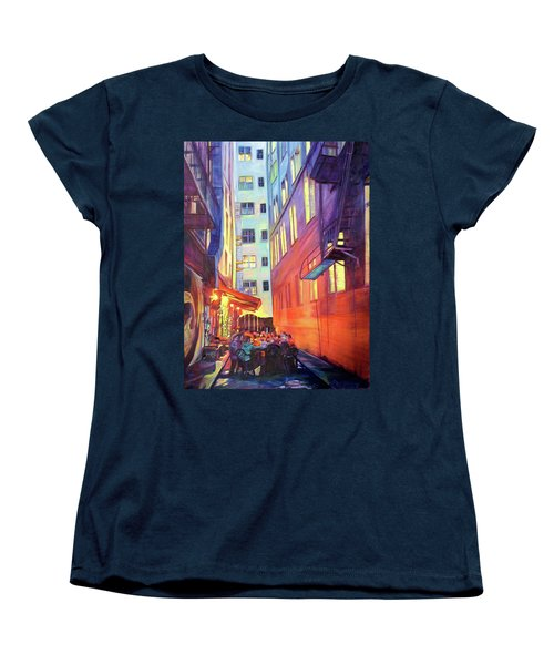 Heart Of The City Women's T-Shirt (Standard Cut) by Bonnie Lambert