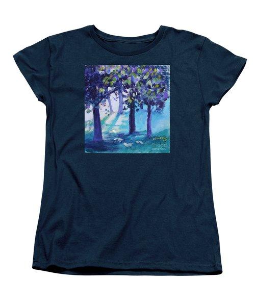 Heart Of The Forest Women's T-Shirt (Standard Cut) by Jan Bennicoff