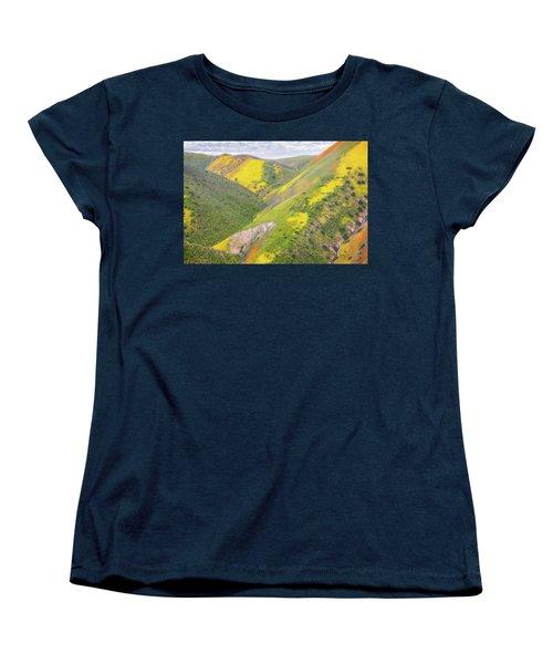 Women's T-Shirt (Standard Cut) featuring the photograph Heart Of The Temblor Range by Marc Crumpler