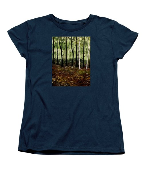Heart Times Women's T-Shirt (Standard Cut) by Lisa Aerts