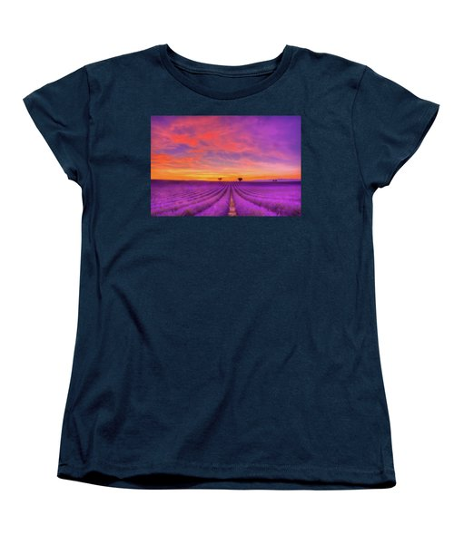 Heart To Heart Women's T-Shirt (Standard Cut) by Midori Chan