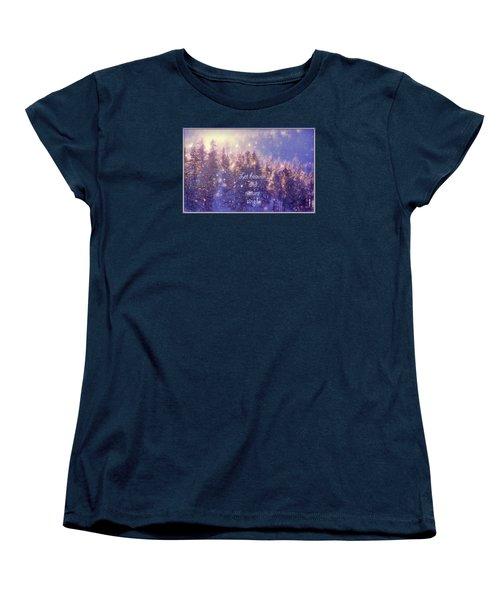 Heaven And Nature Women's T-Shirt (Standard Cut)