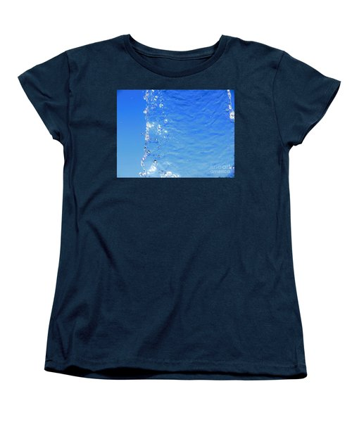 Women's T-Shirt (Standard Cut) featuring the photograph Waterfall by Ray Shrewsberry