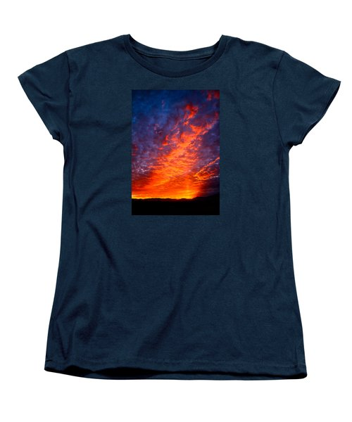 Heavenly Flames Women's T-Shirt (Standard Cut) by Paul Marto