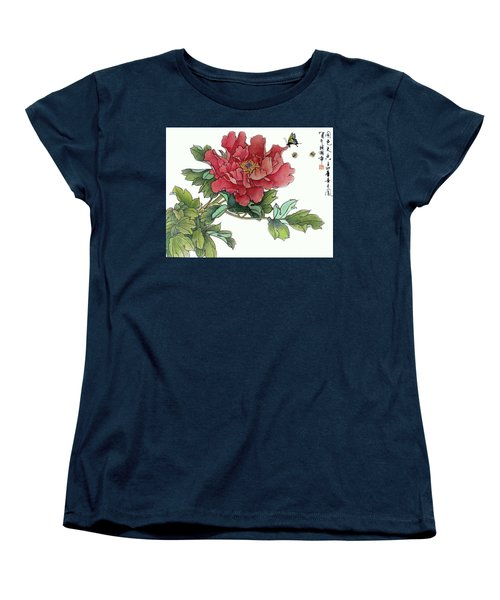 Heavenly Flower Women's T-Shirt (Standard Cut) by Yufeng Wang