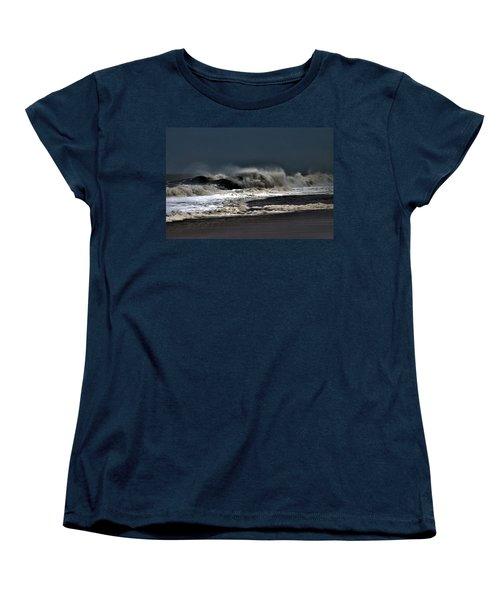 Stormy Surf Women's T-Shirt (Standard Cut)