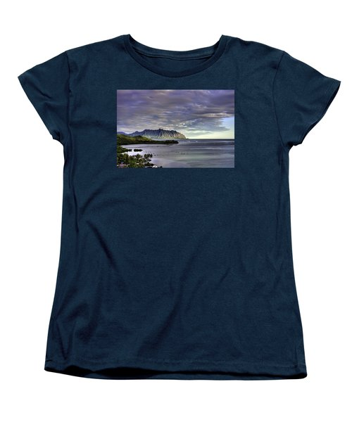He'eia And Kualoa 2nd Crop Women's T-Shirt (Standard Cut) by Dan McManus