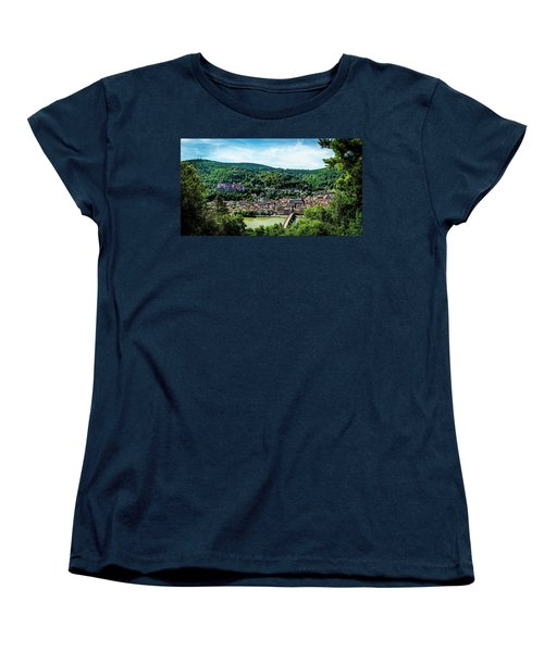 Women's T-Shirt (Standard Cut) featuring the photograph Heidelberg Germany by David Morefield