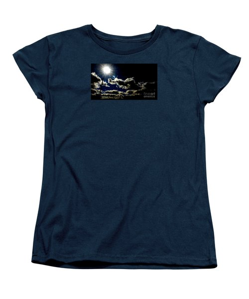 Women's T-Shirt (Standard Cut) featuring the photograph Heinlein's Horizon by Jesse Ciazza