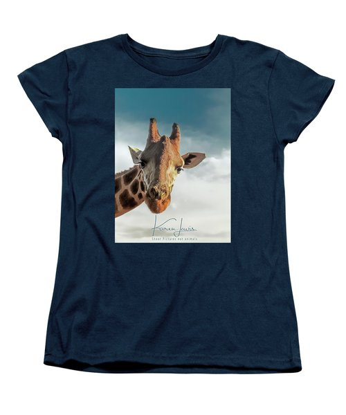 Women's T-Shirt (Standard Cut) featuring the photograph Hello Down There by Karen Lewis