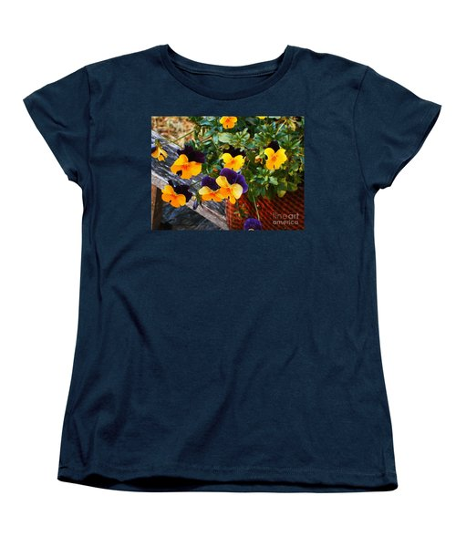 Hello Spring Women's T-Shirt (Standard Cut) by Donna Dixon