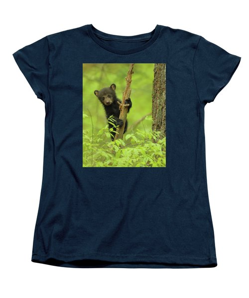Women's T-Shirt (Standard Cut) featuring the photograph Hello There by Coby Cooper