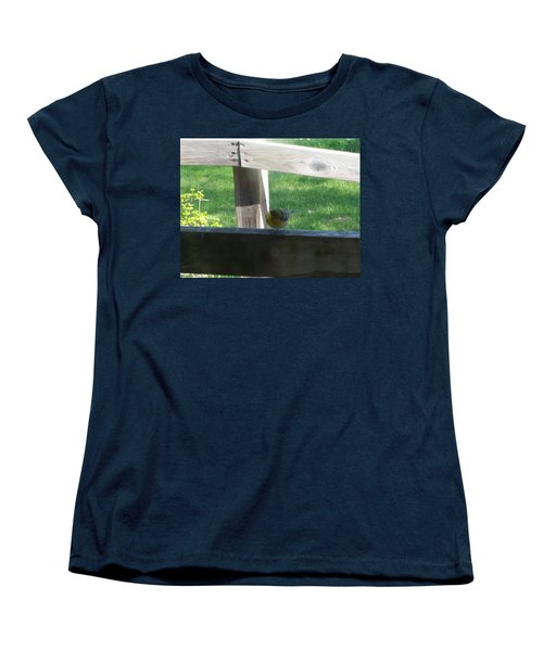 Women's T-Shirt (Standard Cut) featuring the photograph Hello by Wendy Shoults