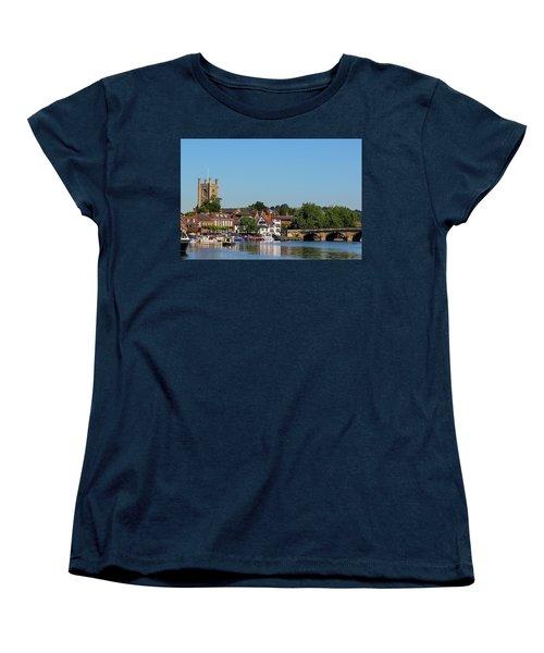 Henley On Thames Women's T-Shirt (Standard Cut) by Ken Brannen