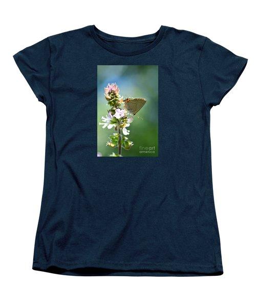 Herb Visitor Women's T-Shirt (Standard Cut) by Debbie Green