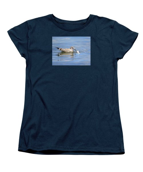 Women's T-Shirt (Standard Cut) featuring the photograph Here Fishy Fishy by Phyllis Beiser