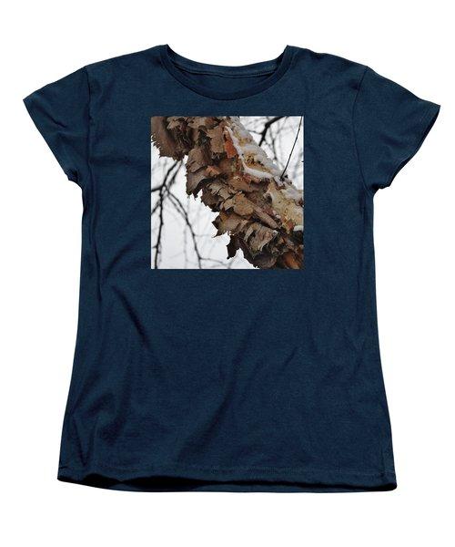 Heritage Birch Women's T-Shirt (Standard Cut) by Vadim Levin