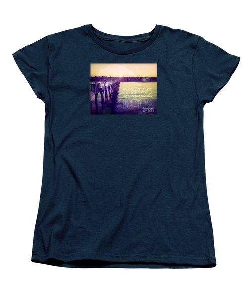 Women's T-Shirt (Standard Cut) featuring the photograph Hermosa Beach California by Phil Perkins