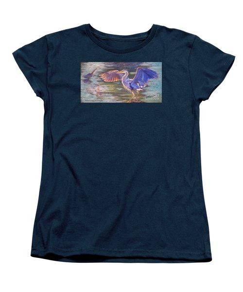 Heron Majesty Women's T-Shirt (Standard Cut)