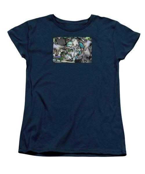 Hidden Image Women's T-Shirt (Standard Cut) by Don Gradner