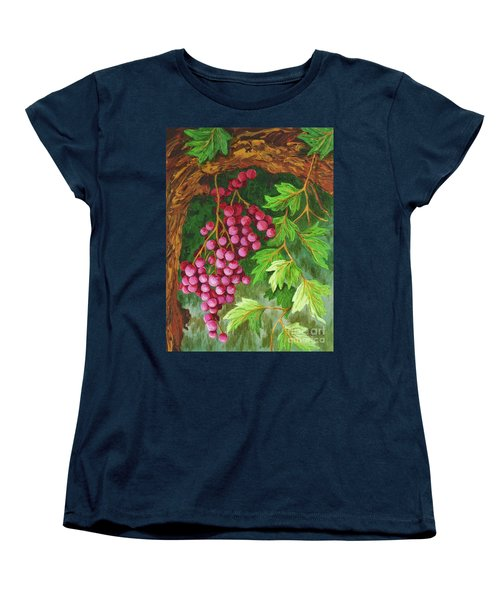 Women's T-Shirt (Standard Cut) featuring the painting Hidden Treasure by Katherine Young-Beck