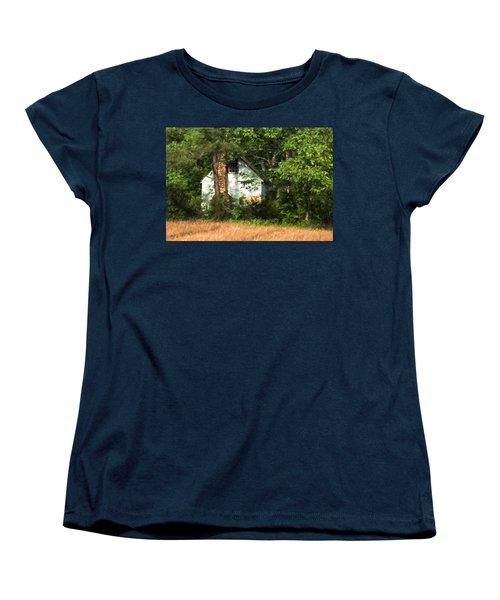 Hide And Seek Women's T-Shirt (Standard Cut) by Kathleen Scanlan