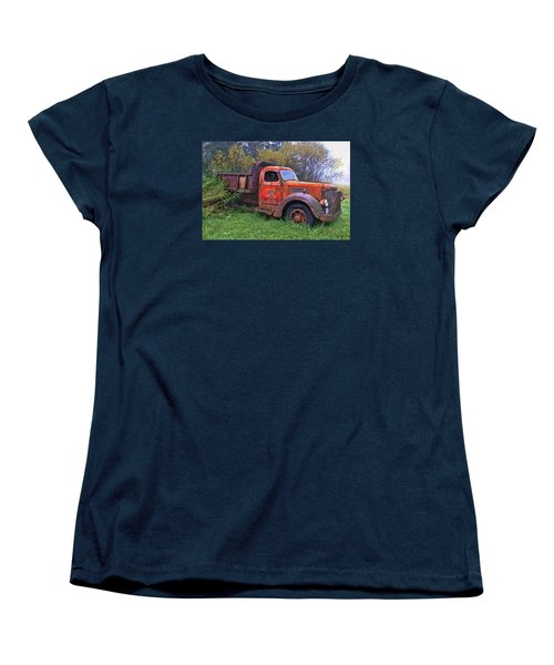 Hiding In The Bushes Women's T-Shirt (Standard Cut) by Susan Crossman Buscho