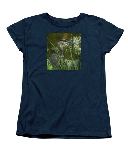 Hiding In The Grass Women's T-Shirt (Standard Cut) by Arlene Carmel