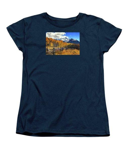 High County Ablaze Women's T-Shirt (Standard Cut) by Rick Furmanek