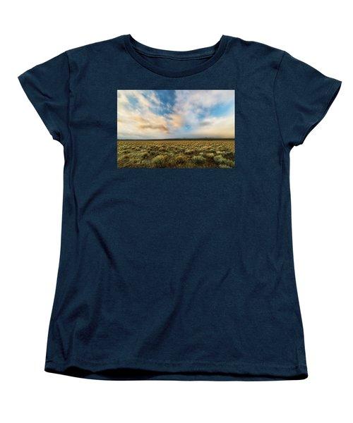 Women's T-Shirt (Standard Cut) featuring the photograph High Desert Morning by Ryan Manuel