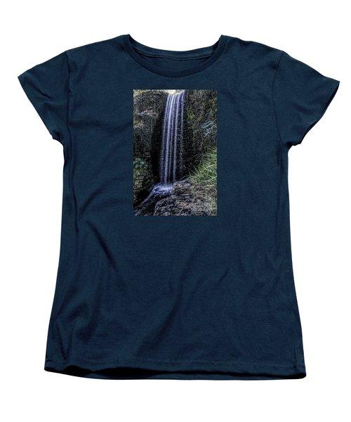 Women's T-Shirt (Standard Cut) featuring the photograph High Fall by Ken Frischkorn