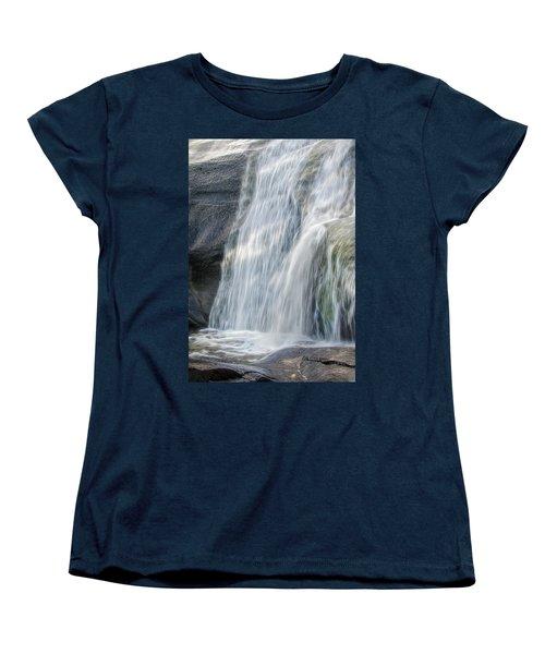 High Falls Three Women's T-Shirt (Standard Cut) by Steven Richardson