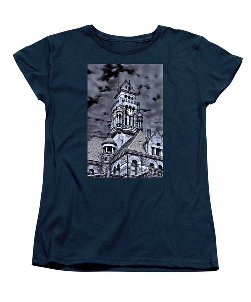 High Noon Black And White Women's T-Shirt (Standard Cut) by Tamyra Ayles