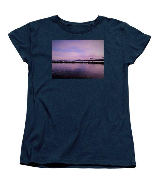 Women's T-Shirt (Standard Cut) featuring the photograph High Tide by Karen Horn