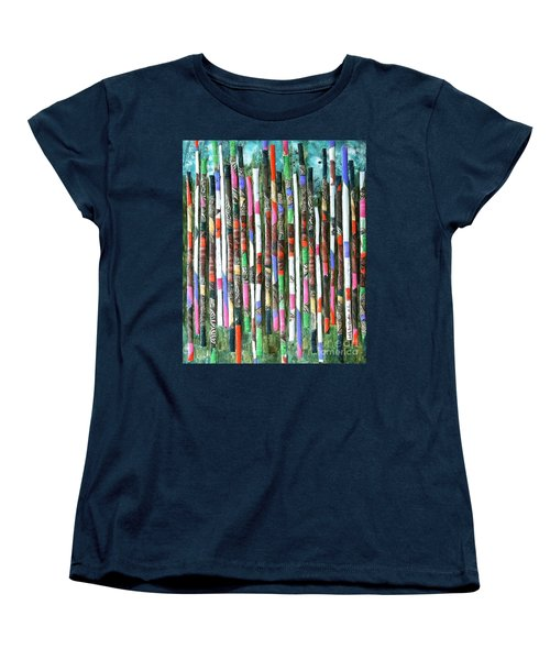 Hint Of Tiger - Sold Women's T-Shirt (Standard Cut) by Judith Espinoza